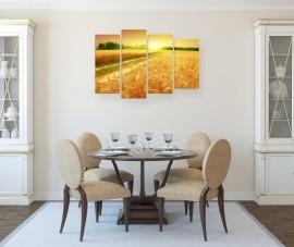 Преимущества декорирования кухни фотокартинами: как и где их разместить