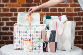 Какими бывают подарочные бумажные пакеты: перечень основных разновидностей