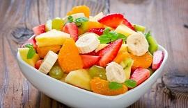 Салаты из фруктов: интересные идеи и рецепты