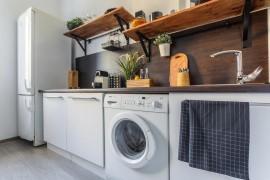 Технология установки стиральной машины на кухне: каким правилам следовать